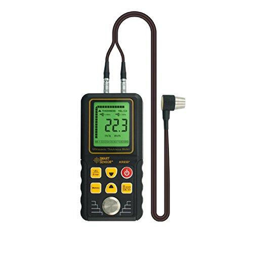 liuchenmaoyi Metalldickenzähler Dickenmessgerät Smart Sensor AR850, 1,2-225mm Digital Wanddickenmessgerät Dickenzähler
