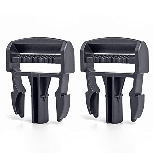UNIGT 2 Pack Door Net Buckle Clip Compatible with 2016-2020 Polaris Ranger 570 900 1000 XP Factory Mesh Door Side Safety Net Fastener Replacement for 5452505