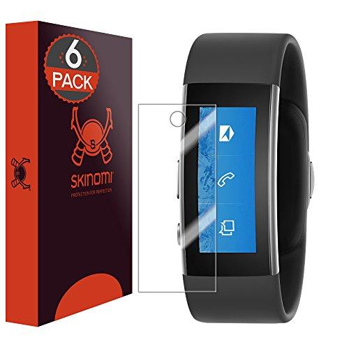 Skinomi sk20767TechSkin - Schutzfolie für Microsoft Band 2 - deckt den Display, 6er Pack