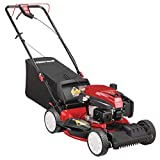 Troy-Bilt 21 in. 159 cc Gas Walk Behind Self Propelled Lawn Mower with Check Don't Change Oil, 3-in-1 Triaction Cutting System