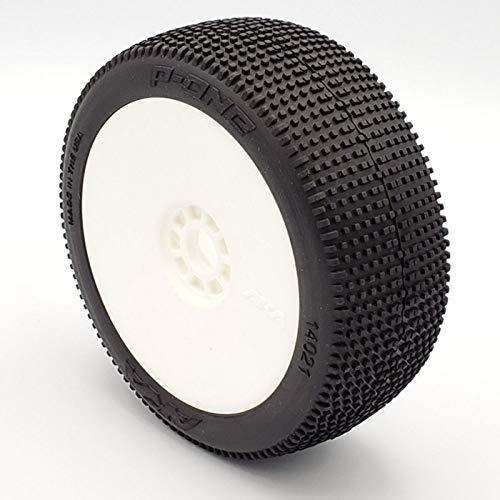 AKA 1:8 Buggy Reifen Weisse Evo Felge P1 Supersoft Long Wear (2)