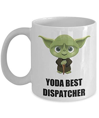 NA Cumpleaños Fiesta de Navidad Regalos para despachador Empleado Personal Compañero de Trabajo Oficina Personal Hombres Mujeres Star Wars Yoda Mejor Personalizada Taza de café Divertida