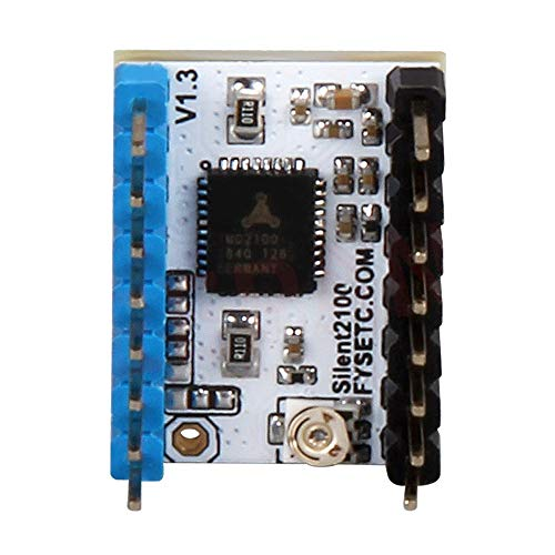 3D-Printeraccessoires TMC2100 V1.3 Stepper Motor Driver Super Silence Module Heat Sink for 3D Printer Parts