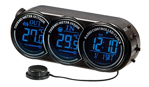 Preisvergleich Produktbild Lampa SEYIO RCD-39 Digital-Funkuhr 12 / 24V