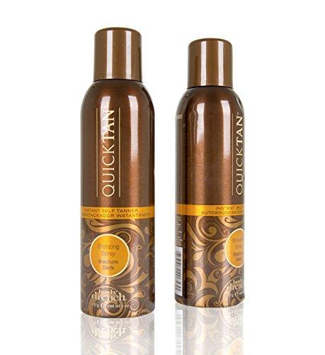 Body Drench Quick Tan Instant Self-Tanner/Bronzing Spray - Medium/Dark, 6 Fl Oz (2 pack)