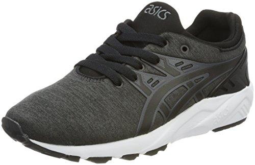 ASICS Unisex-Erwachsene Gel-Kayano Trainer Evo H7Y2N-9590 Sneaker, Grau (Dark Grey/Black), 42.5 EU
