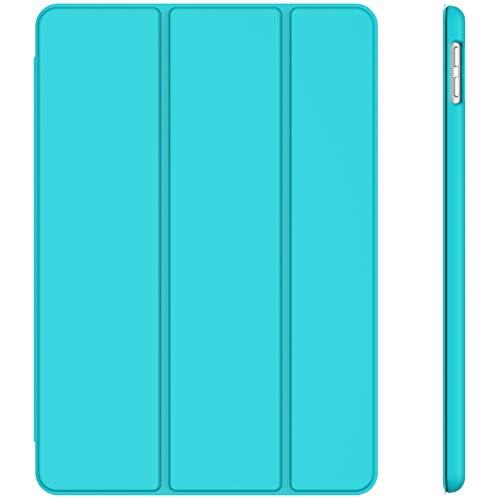 JETech Hülle für iPad 8/7 (10,2 Zoll, Modell 2020/2019, 8./7. Generation), Auto Schlafen/Wachen, Blau
