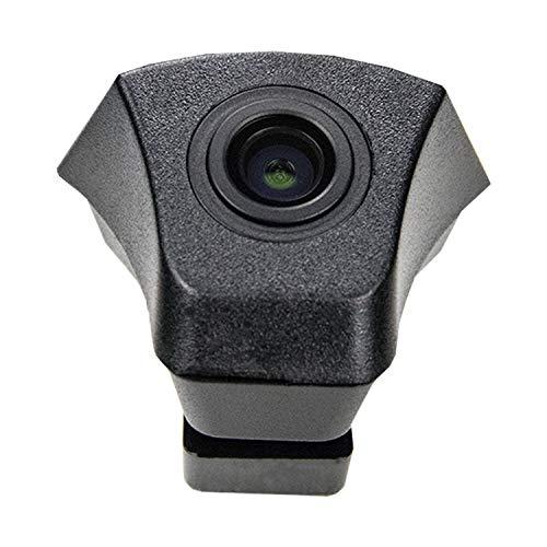 Front-Kamera- perfekt,170° Wasserfest 1/3 HD CCD Emblem Kamera (Schwarz) & unauffällig ins Front-Emblem integriert für Audi Audi A6 (4F/4G) C7 A7 (2012/2013) Q5 Q7 Q3 A4L A4 b8