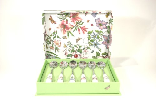 Portmeirion Botanic Garden Cutlery Tea Spoons - Set of 6