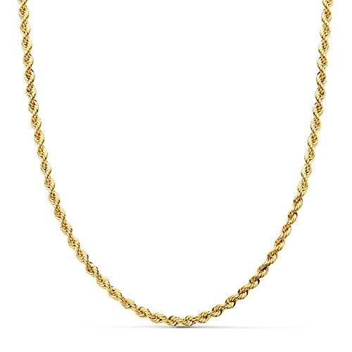 Cordón Salomónico Ligero Oro amarillo 18k 60cm 3mm