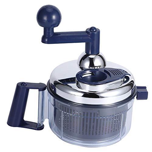 Manual Food Chopper Hand Crank Food Processor Meat Grinder Food Mincer Blender
