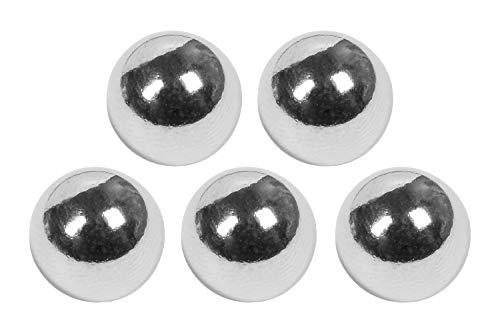 Connex Neodym-Kugelmagnet - Ø 10 mm - 5 Stück im praktischen Set - Extra starker Magnet - 2 kg Haftkraft - Für Haushalt & Hobby / Powermagnet / Magnetkugel / Mini-Magnet / DY7100021