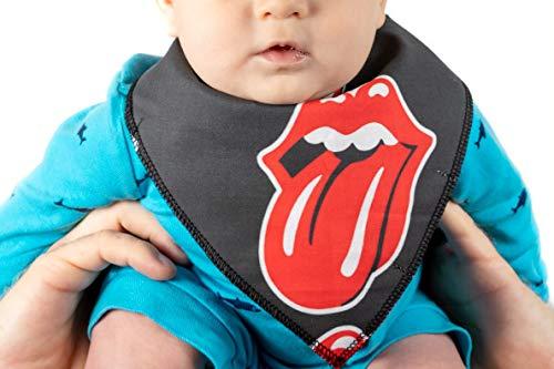 Bandana Style Baby Bib Handmade Adjustable with Snaps