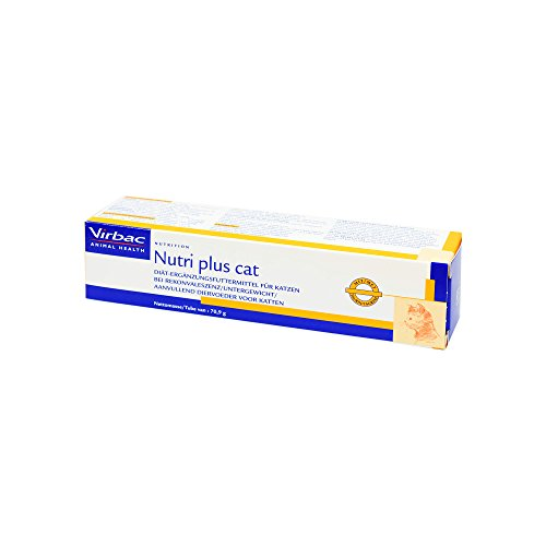 Virbac Nutri Plus Cat Paste Vet, 1er Pack (1 x 71 g)