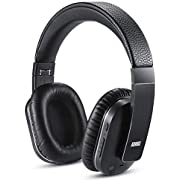 Bluetooth Wireless Headphones with ANC/aptX - August EP750 - Active Noise Cancelling Headset with Microphone - Reduce Air Travel Engine Noise