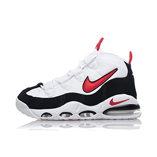 Nike Men's Air Max Uptempo '95 CK0892, White/University Red-black, 11.5