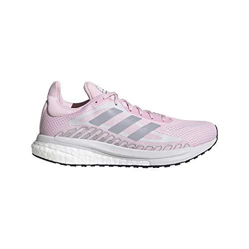 adidas Solar Glide ST 3 W, Zapatillas de Running Mujer, CARFRE/PLAHAL/Rojsol, 38 EU