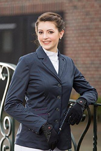 HKM Damen Softshell Reitblazer -Paris Bluse, dunkelblau, 34