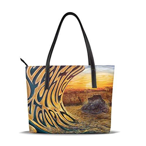 Leicht gedrungene Damenmode Hochleistungs-Handtasche mit hoher Kapazität, wasserdicht, leicht und langlebig