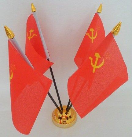 Flag Co URSS Rusia Martillo Hoz Unión Soviética