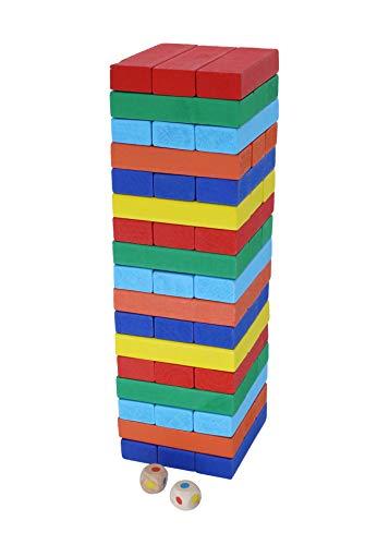 Afunti Juegos de Mesa Juguetes Madera Montessori Juguetes Madera de Colores Juego para Adultos e Infantil