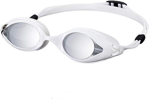 DaQingYuntur Lunettes de natation, lunettes de natation professionnelles anti-buée et imperméables HD, ajustent le visage avec des accessoires de natation confortables et imperméables, convenant aux h