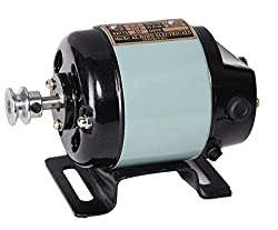 Al - Hind Sewing Machine Motor Full Copper Winding with Heavy Quality Speed Controller (Grey),Al Hind Enterprises
