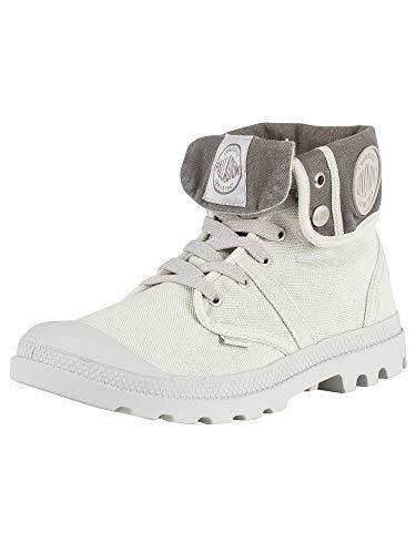 Palladium Herren Us Baggy W H Hohe Sneaker, Grau (Vapor/métal), 41 EU