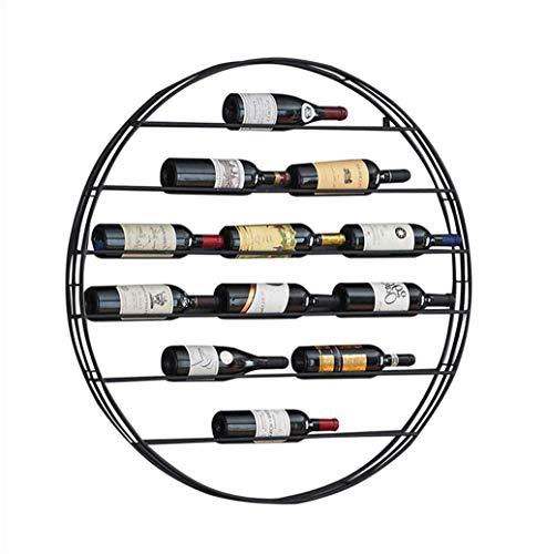 LIPENLI Ronda pared del vino Estante for despacho de casa Decoración