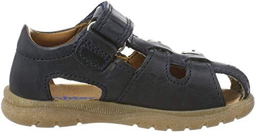 Richter Kinderschuhe Jungen Terrino Geschlossene Sandalen, Blau (Atlantic 7200), 25 EU