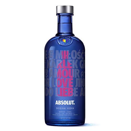 Vodka - Absolut Drop Of Love 1L