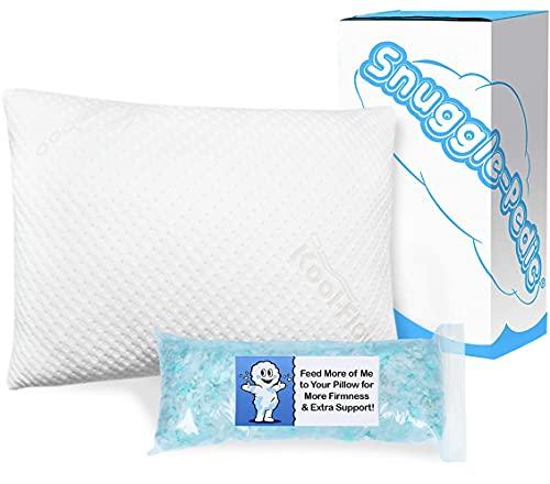 Snuggle-Pedic Supreme Plush Bamboo Pillow (Queen)