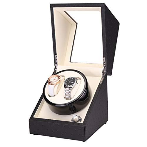 Yxx max Uhrenbeweger fur automatikuhren Uhrenbeweger, besonders leise 2 + 0 Mechanischer Aufzug Uhrenboxen Einkopf-Fünfgang-Automatikmotor mit Einstellbarer Geschwindigkeit