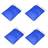 Julhold Juguete de arcilla de ventilación para aliviar el estrés, sin bórax para niños, 200 g, con aroma de lodo de nieve, 12 colores, 50 g, 1 paquete (azul)