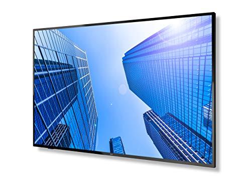 NEC MultiSync E657Q 165,1 cm (65') LED 4K Ultra HD Digital Signage Flat Panel Negro - Pantallas de señalización (165,1 cm (65'), LED, 3840 x 2160 Pixeles, 350 CD/m², 4K Ultra HD, 8 ms)