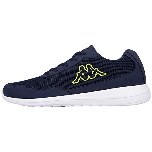 Kappa Follow, Zapatillas Unisex Adulto, Azul (Navy/Lime 6733), 41 EU