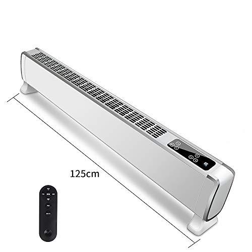 BBBSVEFK Intelligente elektrische verwarming badkamer muur energiebesparende convector, geluidsarm, led-touch-display, 3 warmtestanden, regelbare thermostaat & timer, afstandsbediening