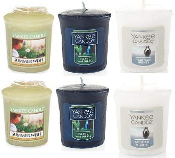 Yanke Candle shopping Summer Votive Candles Limited price sale 6 of Oz. Pack 1.75