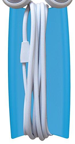 Preisvergleich Produktbild Quirky Wrapster Kabelaufwicklung für Kopfhörer,  Blau