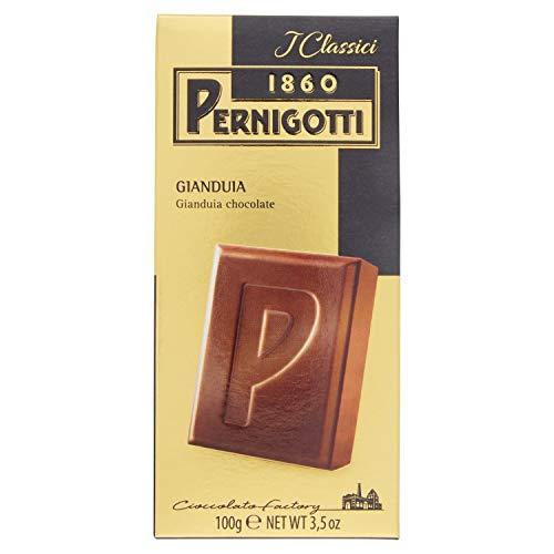 Pernigotti, Tavoletta Gianduia, al Cioccolato Gianduia Classico, Senza Olio di Palma, Senza Glutine, Confezione da 100 gr