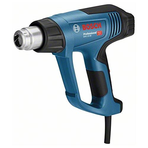 Bosch Professional GHG 23-66 - Decapador (2300 W, temperatura regulable 50hasta 650°, pantalla digital, 10 flujos, 5 accesorios, en maletín)