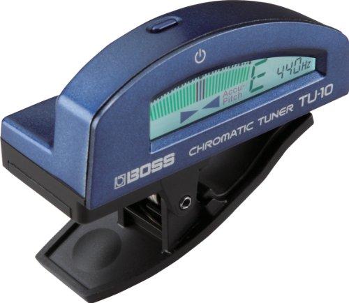 Boss TU-10 Stimmgerät, blau