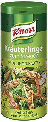 Knorr Kräuterlinge Gewürzmischung Frühlingskräuter (Frisches Kräuterbouquet für Gemüse, Salate oder Aufläufe - vegan), 1 x 60 g