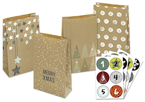 folia Adventskalender 24 Adventsttchen