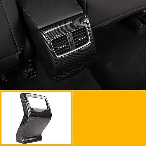WHJIXC Für Honda Accord 2018, 5 Farben Auto Rücksitz Klimaanlage Luftauslass Zierrahmen ABS Dekoration Zubehör