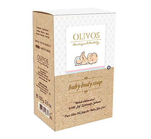 Baby Body Soap 100g. Olivtvål