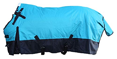 CHALLENGER 72' 1200D Horse Turnout Waterproof Heavy Weight Winter Blanket 5EE10G