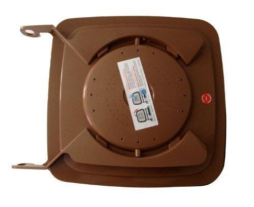 Bio-Filterdeckel für 120 l Biotonne/Mülltonne - Biotonnendeckel - Madendeckel (120/140 Liter)