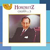Horowitz plays Chopin vol.3 by Vladimir Horowitz (1993-04-06)