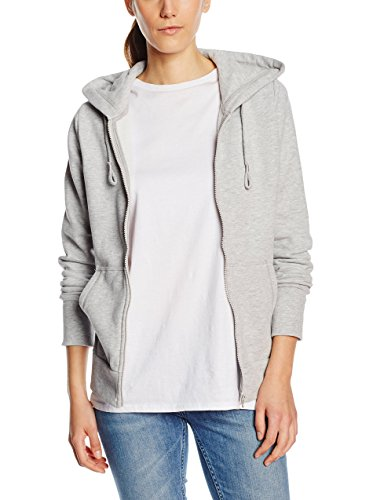 Chiemsee Damen Hodded Sweat Jacket Herja 2, Light Grey, S